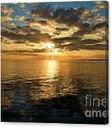 Sunrise At The Banks Canvas Print