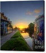Sunrise At The Boat Inn Canvas Print