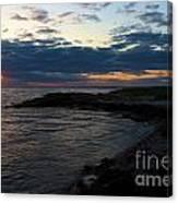 Sunrise At The Edge Canvas Print