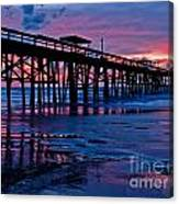 Sunrise At The Pier 2 Canvas Print