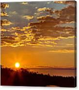 Sunrise Bayou Canvas Print