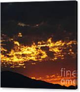 Sunrise Burning Canvas Print