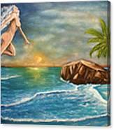 Sunrise Goddess Canvas Print