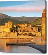 Sunrise In Collioure Canvas Print