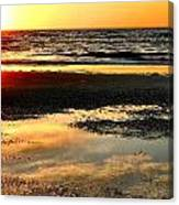 Sunrise In Jekyll Island Canvas Print