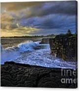 Sunrise Near Hilo Hawaii Canvas Print