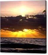 Sunrise Obx Canvas Print