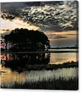 Sunrise On Assateague Canvas Print