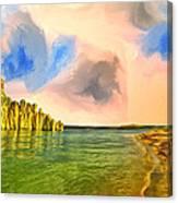 Sunrise On Lake Powell Canvas Print