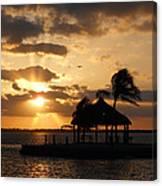 Sunrise Over Bay Canvas Print