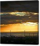 Sunrise Over Kessock Canvas Print