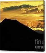 Sunrise Over Maui Canvas Print