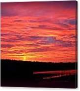 Sunrise Over Miller Bay Canvas Print
