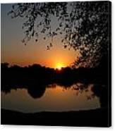 Sunrise Over Paradise  Canvas Print