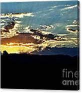 Sunrise Over Sedona Az Canvas Print