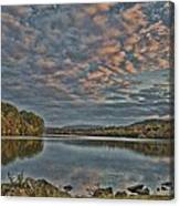 Sunrise Putnam Lake Canvas Print
