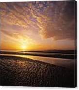 Sunrise, Sandymount Strand Dun Canvas Print