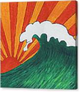 Sunrise Sunset Canvas Print
