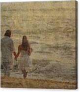 Sunrise Wedding Canvas Print