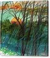Sun's Edge Canvas Print