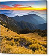 Sunset , Hehuan Mountain , Taroko National Park , Canvas Print