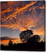 Sunset 07 26 12 Canvas Print