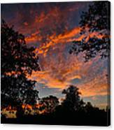 Sunset 07 26 12 Two Canvas Print