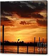 Sunset 1-1-12 Canvas Print