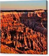 Sunset At Cedar Breaks Canvas Print