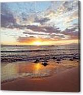 Sunset At Cove Park Canvas Print