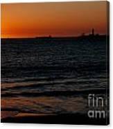 Sunset At Freemantle Canvas Print