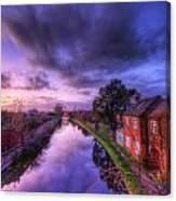 Sunset At Loughborough Canvas Print