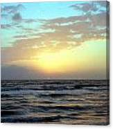 Sunset Blues Canvas Print