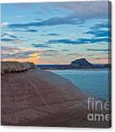 Sunset Cliff Canvas Print