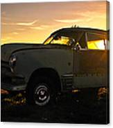 Sunset Coupe Canvas Print