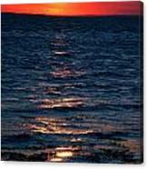 Sunset Denmark Samsoe Island Canvas Print