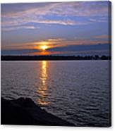 Sunset Egg Harbor Canvas Print