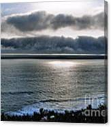 Sunset In Carmel Canvas Print