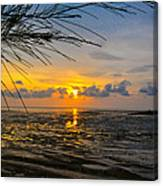 Sunset In Jeram Canvas Print