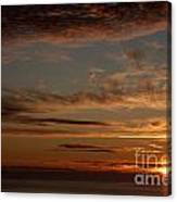 Sunset In The Pacific Ocean 3 Canvas Print