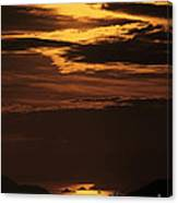 Sunset Ipanema  Canvas Print