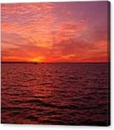 Sunset Iv Canvas Print