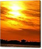 Sunset Ix Canvas Print