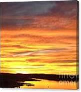Sunset Lake Travis Canvas Print