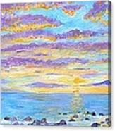 Sunset Maui Canvas Print