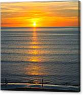Sunset - Moana Beach - South Australia Canvas Print