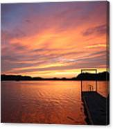 Sunset On Chilhowee Canvas Print