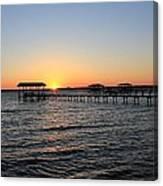 Sunset Over St Johns Canvas Print