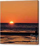 Sunset Park Petoskey Mi Canvas Print