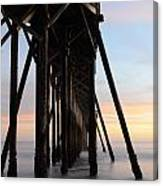 Sunset Pier California 3 Canvas Print